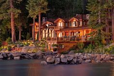 Wow!! Yeah I can picture the rest of my life living on a river like this.GLENBROOK, NEVADA: Yahoo! Homes.  13 BEDROOMS 14 BATHS 2 HALF BATHS 14,200 SQ. FT. $28.5 MILLION