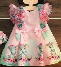 Girls Spring Dresses, Toddler Girl Dresses, Nice Dresses, Kids Girls, Little Girls, Outfits For Teens, Girl Outfits, Mehndi Designs For Girls, Baby Dress Design