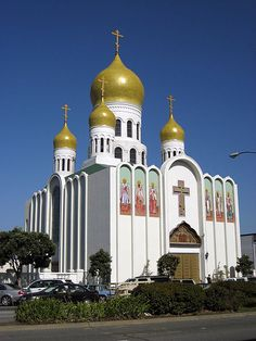 Holy Virgin Cathedral Russian Orthodox Church, Geary Blvd, San Francisco.
