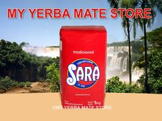 Sara yerba mate is grown in Brazil and packaged in Uruguay by Carrau & Cia S.A.