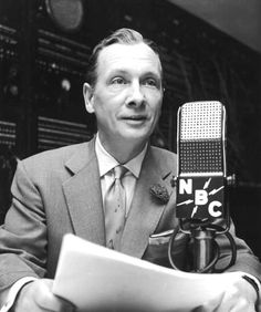 "John Cameron Swayze (1906 - 1995) He was the first network TV news anchor in the US on the ""Camel News Caravan"", famous for his Timex watch commercials with the tag line ""It takes a licking and keeps on ticking"". Born in Wichita, Kansas"