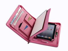 Apple iPad mini Padfolio with Notepad Briefcase for mini iPad