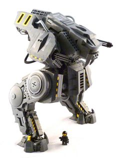 PROMETHEUS Siege Mech Prototype by zane_houston, via Flickr
