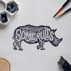 On the Creative Market Blog - Get Inspired with these Gorgeous Illustrated Rules of Success