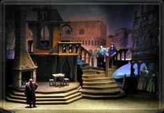scenic design for The New York State Theatre Institute's production of A Tale of Cinderella. The Design is by Richard Finkelstein.