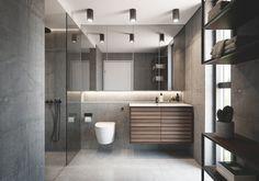 3 tendenser: Sådan skal dit badeværelse se ud i Downstairs Bathroom, Terrazzo, Bathroom Inspiration, Bathtub, Layout, Rustic, Interior Design, House, Home Decor