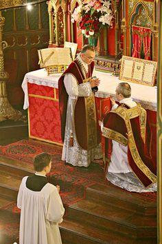 Fête de sainte Cécile 2015 - bénédiction du diacre avant le chant de l'évangile.