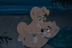 Lady and the Tramp 2   <3