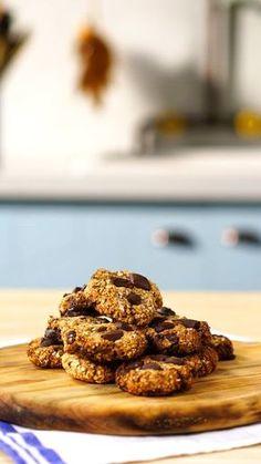 Cookie de Banana com Aveia e Chocolate ~ Receita | Tastemade