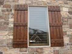 rustic shutters | Rustic Shutters - Custom Exterior Designs