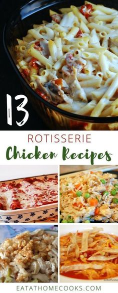 Have you ever wondered what to do with a Costco rotisserie chicken? If so, I've got you covered! (What To Do With A Rotisserie Chicken) Costco Rotisserie Chicken Recipe, Freezer Chicken, Leftover Chicken Recipes, Roast Chicken Recipes, Leftovers Recipes, Healthy Chicken Recipes, Cooking Recipes, Costco Recipes, Beef Recipes