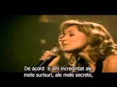 Je t`aime_ Lara Fabian [subtitrat română] To my Jewish guys (Barack is just one of them and certainly not the devil)... Since my childhood it has only been this song, toute ma vie etait au rythme de cette chanson