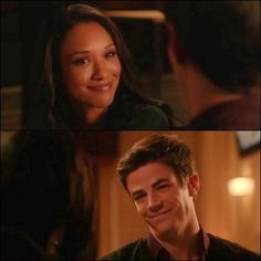 And yet another example of why Barry and Iris just need to get it together. It's ridiculous how cute they are. |CW's The Flash||TV Shows||Westallen||Candice Patton||Grant Gustin|