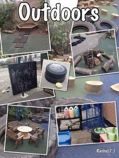 """Our outdoor area - from Rachel ("""",)"""