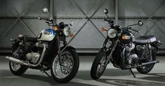 Intermot: Triumph Bonneville T100 e T100 Black