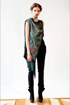 Christian Cota Fall 2012 Ready-to-Wear Fashion Show