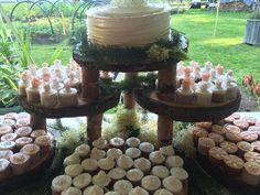 Mesa de decoracion de boda