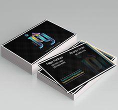 Cartão de Visitas + Logotipo -  Banda Joy