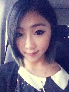 2NE1 maknae Minzy looks unrecognizably mature in new photo #allkpop #kpop #2NE1