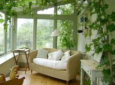 I'd love to convert the pergola into a conservatory!