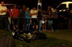 Carreta bate em moto e duas pessoas morrem em Coronel Fabriciano MG