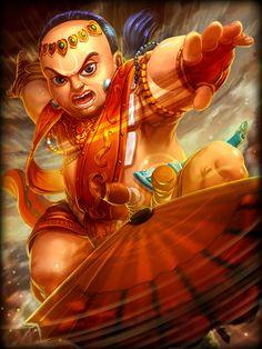 #SMITE   Vamana (Hindu God)