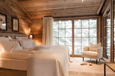 The San Luis offers different kinds of lodges; wooden chalets by the lake or nestled deep in the forest. Chalet Design, House Design, Luxury Tree Houses, Wooden Cottage, Luxury Cabin, Cabin Interiors, Log Homes, Lodges, Luxury Bedding