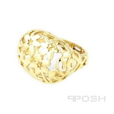 - Open work filigree statement ring - All metals are IP plated brass - Made with high quality elastic to stretch and keep its shape - Fully stretchable ring to fit any finger POSH Vibe Collection - Everyone, Everywhere, Every Occasion. High Quality Costumes, Designer Wear, Statement Rings, Beautiful Rings, Costume Jewelry, Wealth, Wedding Rings, Engagement Rings, Earrings