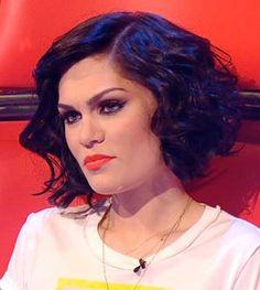 Jessie J short curly hair