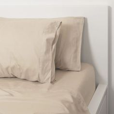 """""""Beige Cotton Bedding Sheet Sets 