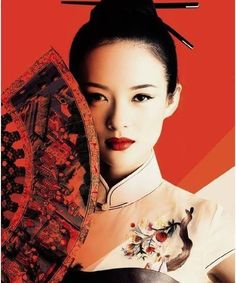 "Zhang Ziyi---- We all know her from her International hits – ""Crouching Tiger, Hidden Dragon"", ""House Of Flying Daggers"" and ""Memoirs Of A Geisha"". Hugely talented, this actress is also the brand ambassador for Omega Watches and Maybelline. Zhang Ziyi, Beautiful Asian Women, Beautiful People, Most Beautiful, Beautiful Pictures, Geisha Samurai, Geisha Art, Memoirs Of A Geisha, Mode Glamour"