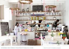 Birdcage Cafe Gift Shop & Tea house In South Africa Gift Shop Interiors, Mein Café, My Coffee Shop, Coffee Shops, Cafe Shop, Bakery Cafe, Cafe Interior, Interior Design, Cafe Design