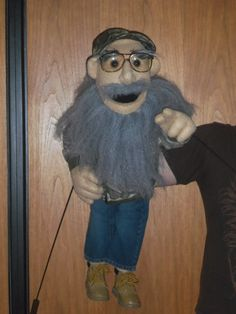 Redneck Uncle by PJs Puppets -- custom professional puppets