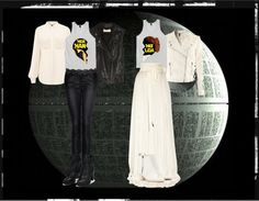 """""""Star Wars: The Perfect Couple"""" by lieslzhenderson ❤ liked on Polyvore"""