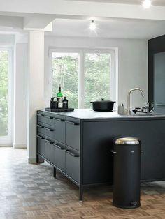 Mat zwarte keuken - I Love My Interior