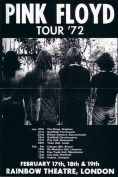Pink Floyd Tour Poster
