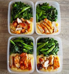 This prep by @banoon_01 has potato mash bbq chicken kale and snap pees! Simple and effective  - Want result? Abs are made in the kitchen. Grab @mealplanmagic and start making your time spent in the gym more effective. - ALL-IN-ONE TOOL & GUIDES -  Build Custom Plans & Set Nutrition Goals  BMR BMI & Max Rate Calculator  Learn Your Macros by Body Type & Goal  Grocery Lists Automated to Weekly Needs  Accurate Cooking and Prep Summaries  Combine & Export Data for Two Plans  Track Your Progress…