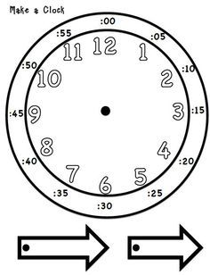 Learning to tell time Hands on. I'm only pinning this to remind myself that sadly, my highschoolers get to my Spanish 1 class not even knowing how to tell time on an analog clock. Makes teaching time in Spanish a real challenge. Teaching Time, Teaching Math, Teaching Resources, Maths, Teaching Shapes, Multiplication Games, Teaching Chemistry, Teaching Numbers, Teaching Colors