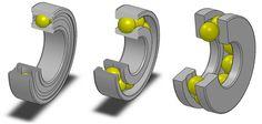 Ball bearing types Machine Design, Make Your Mark, Cnc, Bookends, Bear, Bears