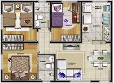 casa popular 3 quartos - Pesquisa Google
