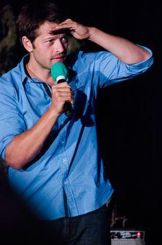 Misha Collins - VanCon 2014 Jensen And Misha, Jensen Ackles, Misha Collins, Saga, Supernatural Convention, Mark Sheppard, New Actors, Castiel, Impala