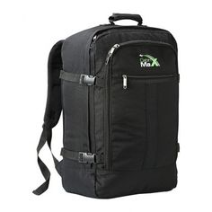 Cabin Max Metz Backpack 55 x 40 x 20cm suitable for hand luggage accepted by Ryanair, EasyJet, Jet 2, Monarch, Flybe, BA, Finnair, Germanwings
