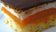 Jak upéct kostky s meruňkovým želé a tvarohem | recept