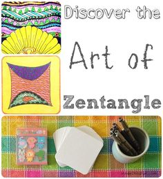 Have you tried Zentangle? So much FUN & so easy to do!!