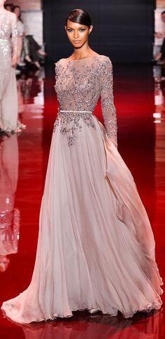 Elie Saab 2014 *my word...that dress is stunning!*  African American Bride, Black Bride.
