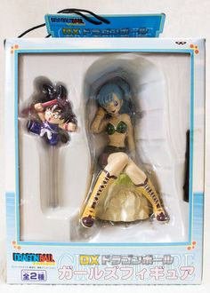 Dragon Ball Z DX Girls Figure Bulma & Goku Banpresto JAPAN ANIME MANGA JUMP