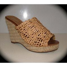 BRONX CORK HEEL SANDAL WEDGE SIZES 5, 6 OR 8. for R189.95 Wedge Sandals, Cork, Wedges, Heels, Stuff To Buy, Heel, Wedge Flip Flops, Wedge Sandal, High Heel