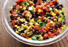 Ingredients 2 (15 oz) cans black beans, rinsed 1 (17 oz) can whole kernel corn, drained 2 large tomatoes, chopped 1 large avocado, diced 1/2 red onion, chopped 1/4 cup chopped fresh cilantro Dressing 1 Tbsp red wine vinegar 3-4 Tbsp lime juice 2 Tbsp olive oil 1 tsp salt 1/2 tsp pepper Directions Minutes […]