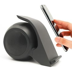 WN1 Dual Coil Fast Charging Wireless Charger With Stereo Bluetooth Speakers High Efficiency For Mobile Phones Tablet PC