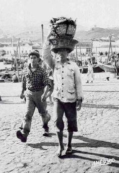 Descarregador de peixe, 1952